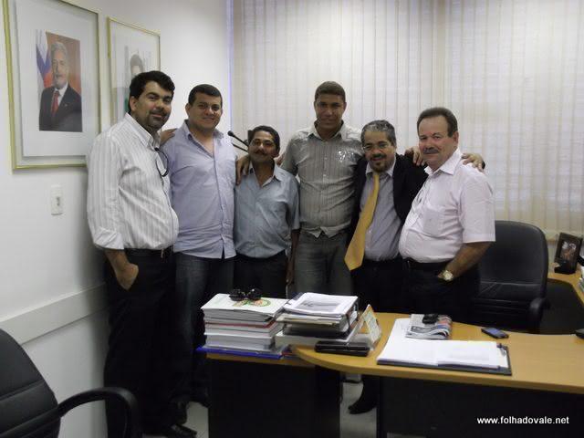 Zezinho,Luciano,Salvador,Guilherme,Fabricio e Dezin