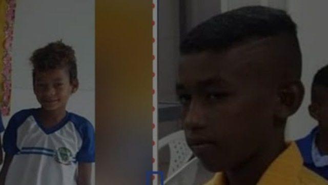Vítimas de afogamento na tarde de domingo (27), em Bom Jesus da Lapa, no Oeste da Bahia.Reprodução Fecebook.